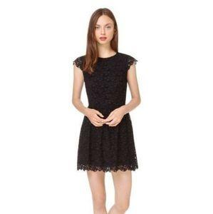 Aritzia Belgravia Black Lace Dress